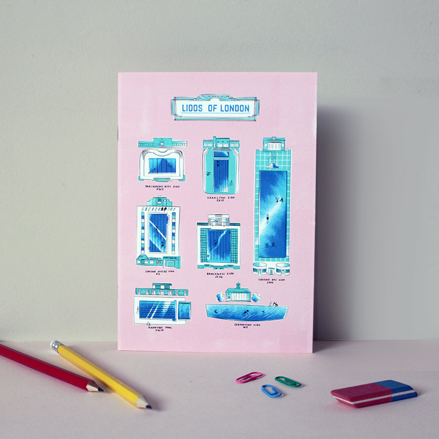 Lidos of London A5 Notebook