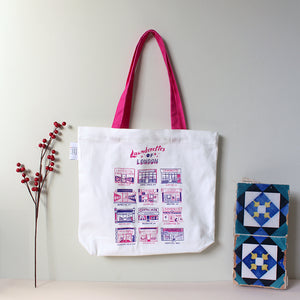 Launderettes of London Shopper Bag