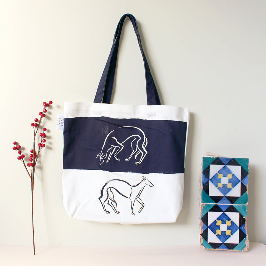 Whippets Shopper Bag