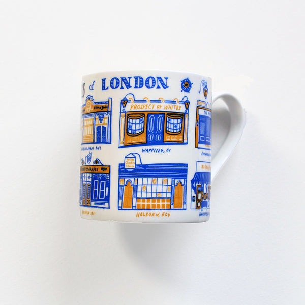 Old Pubs of London Mug