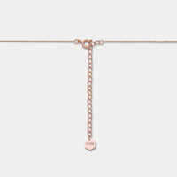 Essentielle Rose Gold Open Circle Choker Necklace