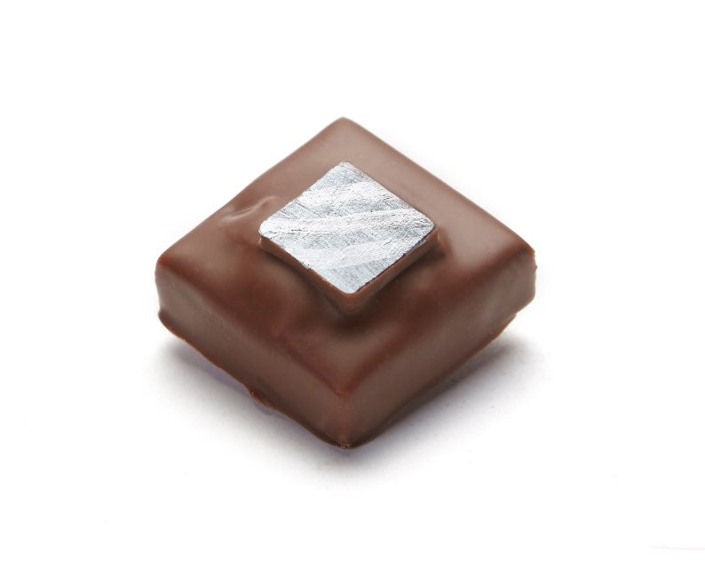 Crunchy Praline Chocolate Confection - Crunchy almond praline blended with milk chocolate.
