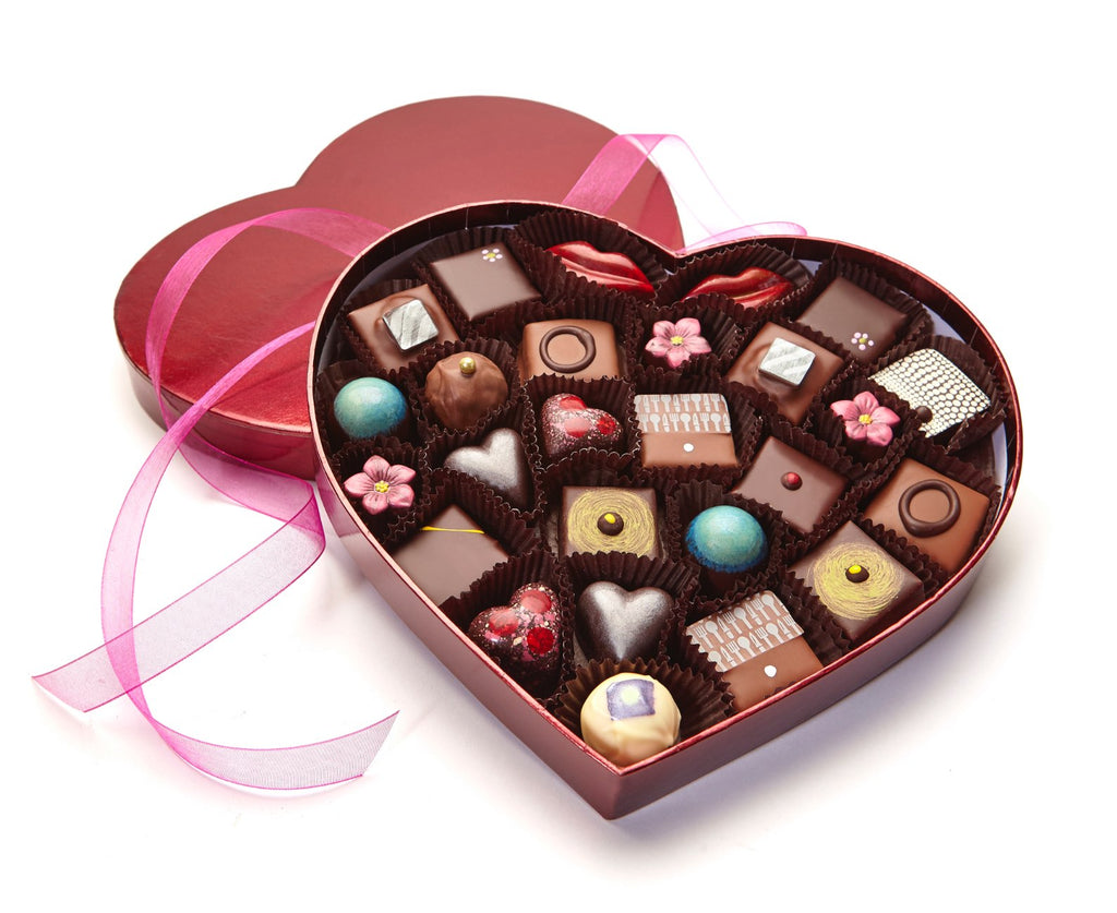 Big Heart Valentine's Assortment of Chocolates from Chocolate Maya