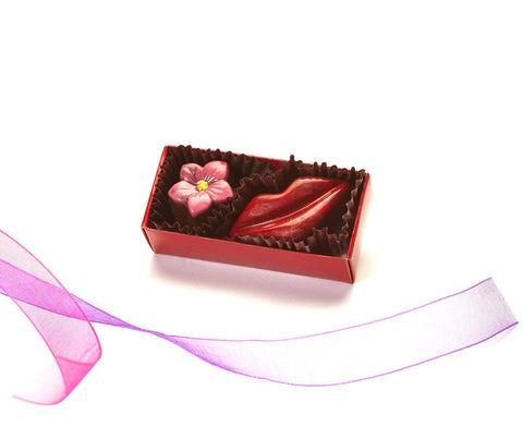The Little Box Valentine's Assortment of Chocolates from Chocolate Maya