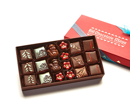 18 Pieces Assorted Holiday Chocolates