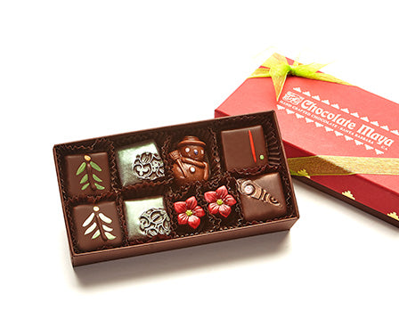 8 Pieces Assorted Holiday Chocolates