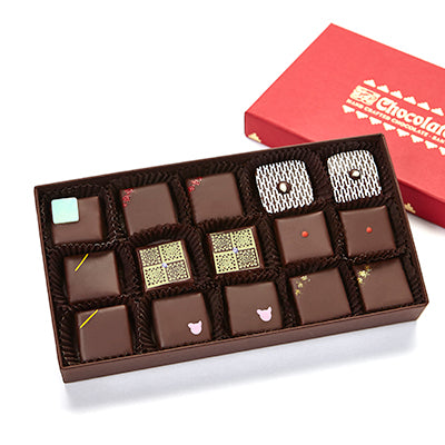 18 pieces assorted Purist chocolates