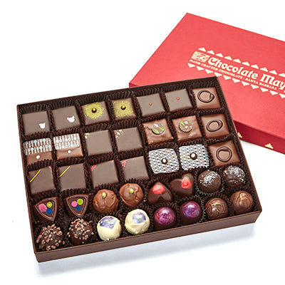 37 pieces assorted Curio chocolates