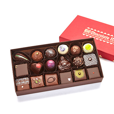 18 pieces assorted Curio chocolates