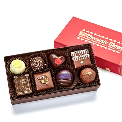8 pieces assorted Curio chocolates