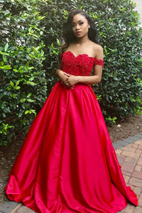Beaded Sweetheart A-Line Sweep Train Prom Dress With Detachable Strap