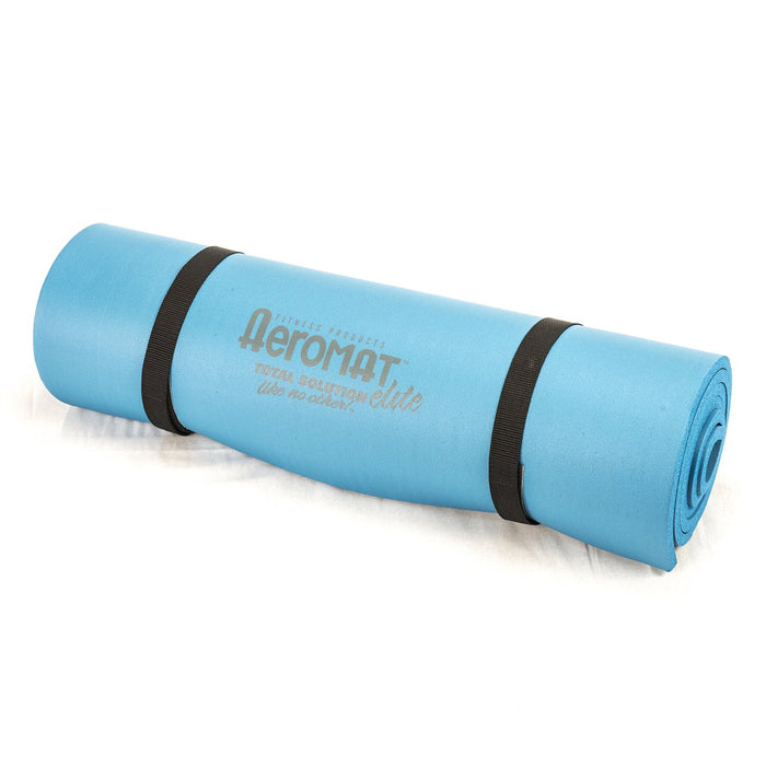 Aeromat Elite Smooth Surface Workout Mat w/ Strap