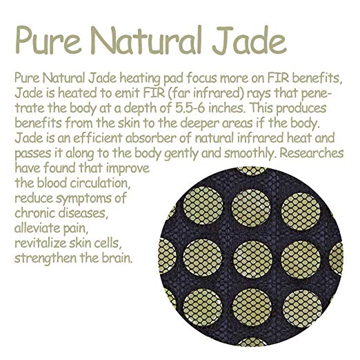 Pain Relieving Natural Jade Mat - Neck & Shoulder