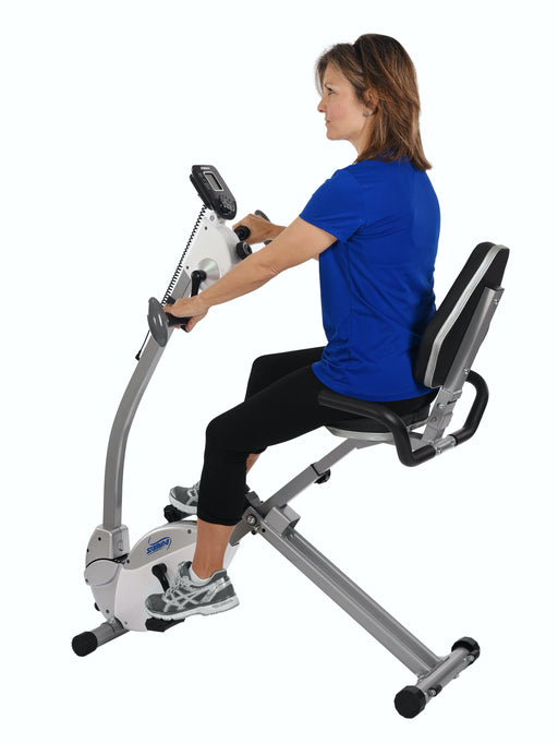 Exercise Bike with Upper Body Exerciser - 4 Payments of $62.25