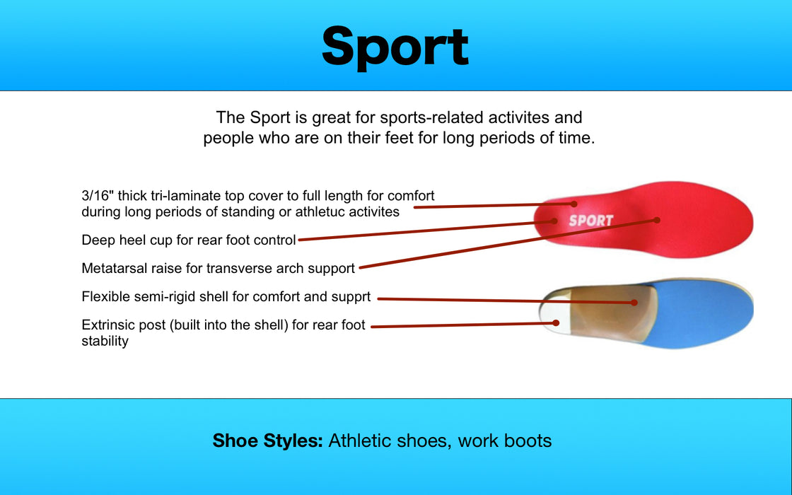 Sport Orthotic - FREE SHIPPING