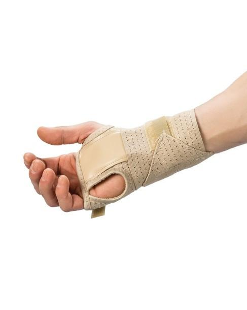 Cock-Up Wrist Brace Bilateral with Removable Palmer Spoon