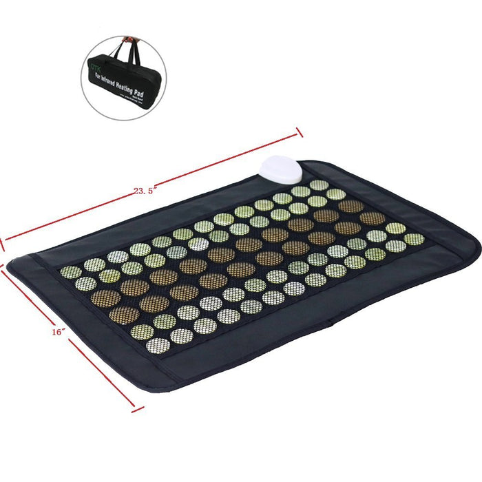 Pain Relieving Jade and Tourmaline Mat - Small Pro