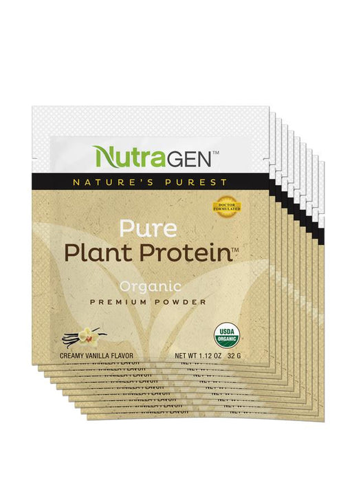 10 Pure Plant Protein Travel Packets