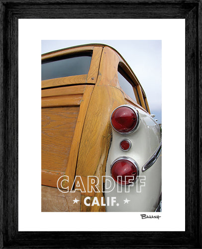 CARDIFF ~ 1942 BUICK WOODIE ~ 16x20