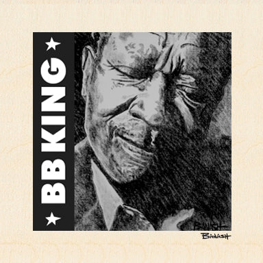 BB KING ~ BLUES GRIN ~ 6x6