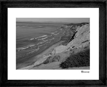 Load image into Gallery viewer, LA JOLLA ~ VIEW OF NORTH COUNTY ~ FRAMED PRINT ~ MAT ~ 16x20