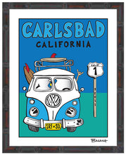 Load image into Gallery viewer, CARLSBAD ~ VW BUS GRILL ~ 11x14