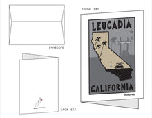 Load image into Gallery viewer, LEUCADIA ~ 10 BLANK CARDS ~ 5x7