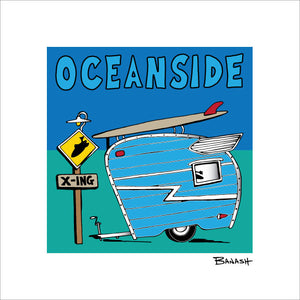 OCEANSIDE ~ CAMPER