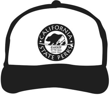 CARDIFF BY THE SEA ~ CALIF STATE PERKS ~ HAT