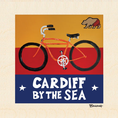 CARDIFF BY THE SEA ~ SKIPTOOTH ~ 6x6