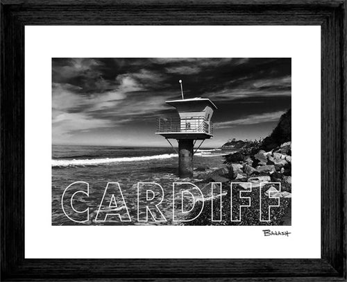 CARDIFF BY THE SEA ~ TOWER 19 ~ 16x20