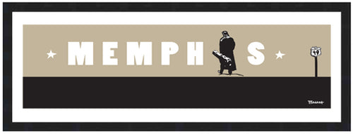 JOHNNY CASH ~ CASH ~ MEMPHIS ~ 8x24