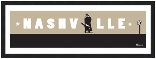JOHNNY CASH ~ CASH ~ NASHVILLE ~ 8x24