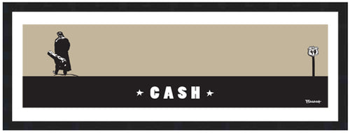 JOHNNY CASH ~ CASH ~ 8x24