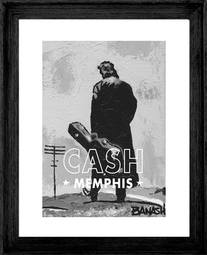 JOHNNY CASH ~ CASH ~ MEMPHIS ~ 16x20