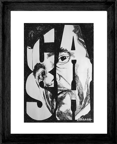 JOHNNY CASH ~ C A S H ~ 16x20