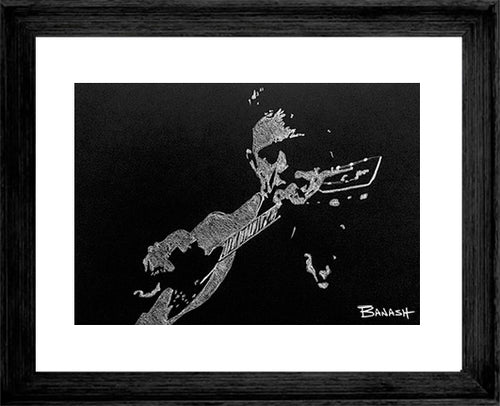JOHNNY CASH ~ THE LEGEND ~ 16x20