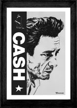 Load image into Gallery viewer, JOHNNY CASH ~ CASH ~ UNCHAINED ~ 12x18
