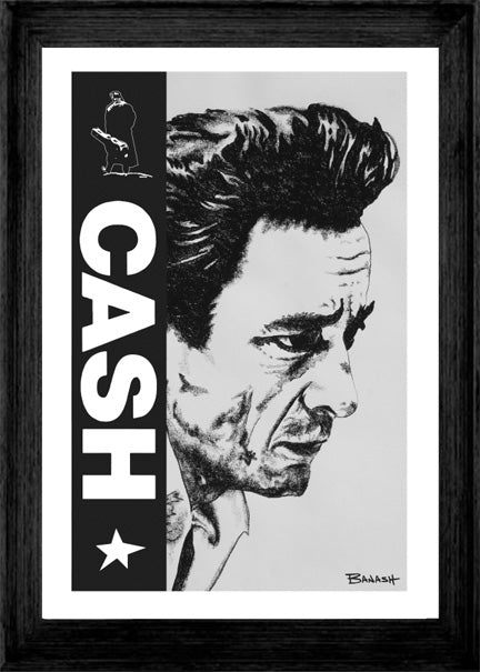 JOHNNY CASH ~ CASH ~ UNCHAINED ~ 12x18