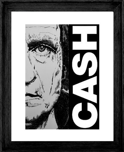 JOHNNY CASH ~ WALK THE LINE ~ 16x20