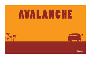 PALOS VERDES ~ CATCH A SURF ~ AVALANCHE
