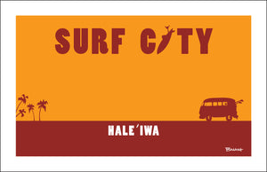 OAHU ~ CATCH A SURF ~ HALEIWA ~ SURF CITY