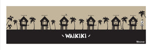 OAHU ~ CATCH A SURF ~ WAIKIKI ~ SURF HUTS ~ BLACK N TAN