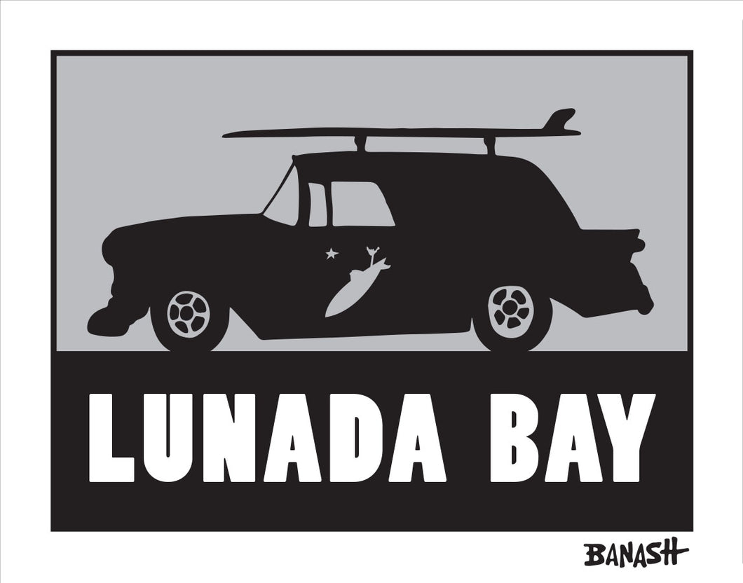 LUNADA BAY ~ SURF RIDE TEAM RIDER