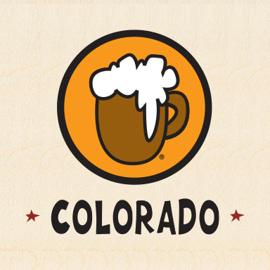 COL BEER ~ COLORADO ~ 6x6