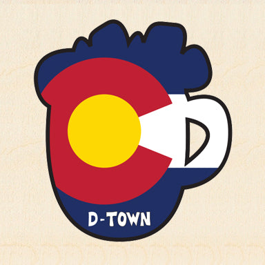 COL BEER ~ COLORADO MUG ~ DURANGO ~ 6x6