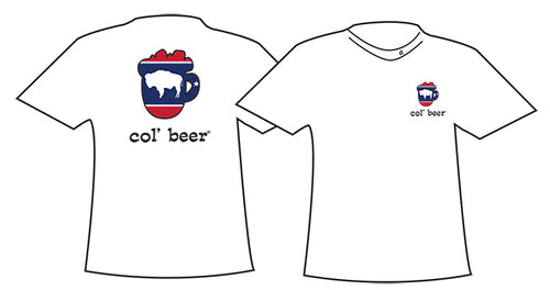 COL BEER ~ MUG OUTLINE ~ WYO BUFFALO