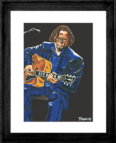 ERIC CLAPTON ~ LAYIN IT DOWN ~ 16x20