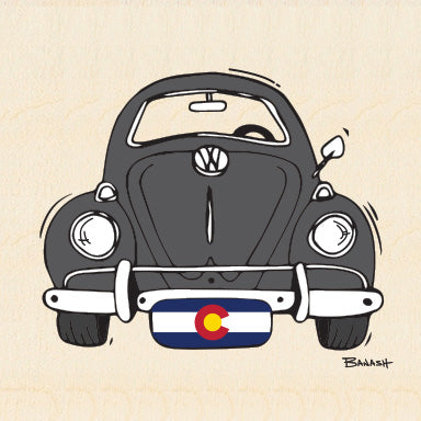 COLORADO ~ VW BUG GRILL ~ CO PLATE ~ 6x6