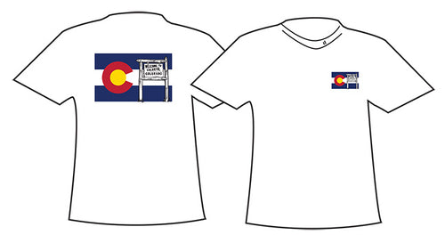 CO FLAG ~ WELCOME TO COLORADO